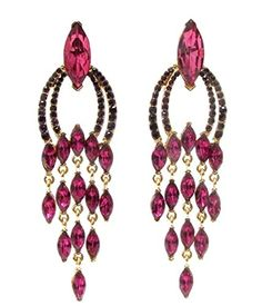 Long Dangle Earrings Z10 Deep Rose Purple Crystal Marquise 4 inch Recyclebabe http://www.amazon.com/dp/B00OX65W9G/ref=cm_sw_r_pi_dp_n.vtub0FWR2TQ