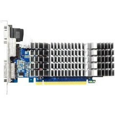 Asus GeForce GT 610 Graphic Card - 810 MHz Core - 1 GB DDR3 SDRAM - PCI Express 2.0 - Low-profile - by Asus. $58.88. Main FeaturesManufacturer/Supplier: ASUS Computer InternationalManufacturer Part Number: GT610-SL-1GD3-LManufacturer Website Address: usa.asus.comBrand Name: AsusProduct Name: GT610 0dB, Fanless Graphics Card with DirectX11, HDMI SupportMarketing Information: Exclusive 0dB thermal design dissipates heat efficiently without any noise HTPC ready desig...