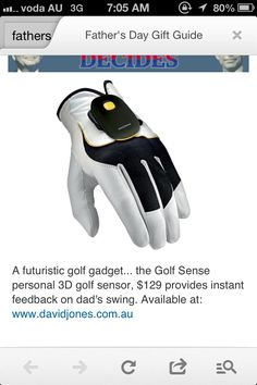 "Outstanding ""golf gifts"" info is available on our internet site. Golf Gadgets, Golf Christmas Gifts, Golf Club Grips, Perfect Golf, Golf Gifts, Gifts For Father, Gift Guide, Internet, Gift Ideas"