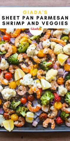 Dinner is one-and-done with this sheet pan shrimp and vegetables recipe. In the warmer months when you don't want to be hanging out over the stovetop, this is a great set-and-forget recipe to turn to! It's a great healthy and gluten free weeknight dinner.
