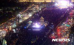 광화문 광장 가득채운 세월호 추모인파 | Daum 뉴스