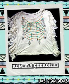 Remera de algodón estampada  Color: Blanca  Talle único.