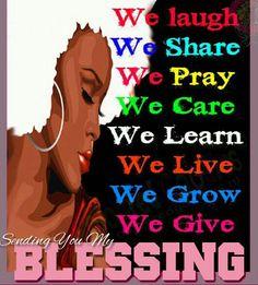 Sending God's Blessings to all :)