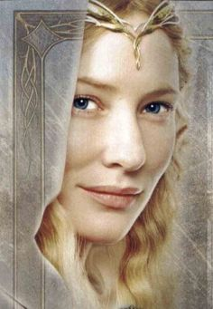 Galadriel--my favorite female from LotR. Also, what I'm naming my first daughter.