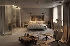 An Urban Village: THE ROOM - 3D RENDERS BY MARIA GLUZDAKOVA