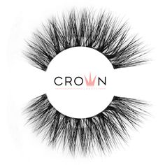 Crown Lashes Mink Fake Eyelashes in style Dainty Fake Lashes, 3d Mink Lashes, Eyelashes, Super Natural, Latex Free, Makeup Yourself, Cruelty Free, Makeup Looks, Crown