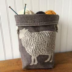 Sheep Trundle Bag