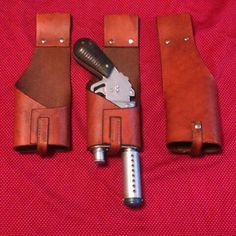 Finally finished the design for the Rey inspired blaster holster. Now up for sale.