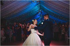Blue house farm wedding pictures