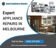 You can always look up to Expert Appliance Repairs for professional electric oven repairs in Melbourne. Besides, we also specialize in dishwasher repairs, washing machine repair, fridge repairs and other commercial and household appliance repairs.  Address:  Truganina VIC 3029 Australia Phone: 0433 418 594