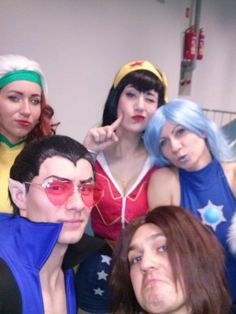 Rogue, Namor, Winter Soldier, Wonder Woman and Killer Frost cosplay https://www.facebook.com/cospf?ref=aymt_homepage_panel