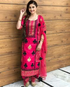 Dm us to buy these trending dresses from extra less on online payment 🔥 . 👉Shipping worldwide 🌎 Cash On Delivery… Kurti Designs Party Wear, Kurta Designs, Dress Designs, Designer Punjabi Suits, Indian Designer Wear, Designer Sarees, Indian Dresses, Indian Outfits, Suit Fashion