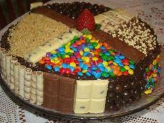 Kuchen Und Torten Bilder | Fruchtige Kuchen Schokolade Torte