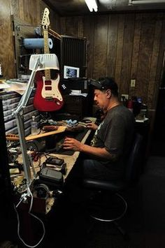 Heights Guitar Tech Fills Big Gap in Houston Gear-Repair Scene with help of Rock Star & Music Veteran Ed Loco! - featured in the @HoustonPress by Chris Lane