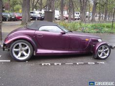Purple Plymouth Prowler