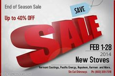 End of season Blow Out Sale!