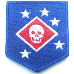 USMC MARINE RAIDERS THE UNITED STATES NARINE CORPS COMMANDOS U.S. ARMY PATCH -04