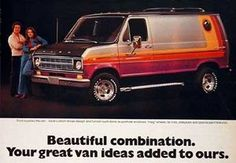 Remember when vans where cool? Ford E Series, Vw Lt, Paint Themes, Strange Cars, Painted Vans, Van Wrap, Cool Vans, Vintage Vans, Custom Vans