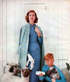 Suzy Parker for Bardley, 1957.