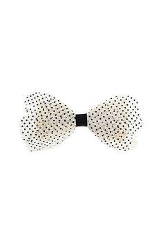 Bows make for a pretty hair accessory! #TopshopPromQueen #topshop #bows #hair