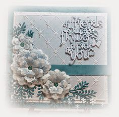 embossing on Vellum