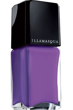 Part of the new Magenta Muse Collection, this bright, shimmering shade delivers a good dose of purple power. Illamasqua Nail Varnish in Poke, $14, available at Sephora.