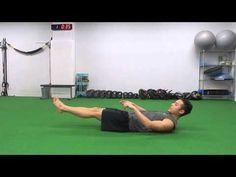 83.【筋トレ】1分間〜ながらトレーニング -Hover sit up-