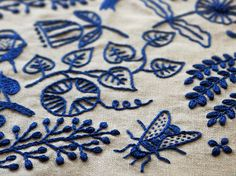 Modern Embroidery | Flickr - Photo Sharing!