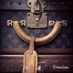 I can feel a desire for vintage in me...#louisvuitton #lv #vintage #trunks #collection #designer #class #luxury - @filoinstyle | Webstagram