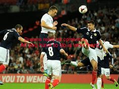 England 3 Scotland 2 in Aug 2013 at Wembley. Debut boy Rickie Lambert headed home the winner on 70 minutes in this friendly international. Rickie Lambert, England Football, Pictures Of The Week, New Week, Southampton, Inspirational Gifts, Scotland, Soccer, Goals