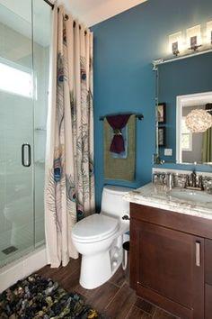 shower; glass door; lighting
