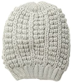 awesome Collection XIIX Women's Bubble Solid Slouch Hat, Glacier Grey, One Size -Slouch hat 8x10.5 in  1 sz -http://weddingdressesusa.com/product/collection-xiix-womens-bubble-solid-slouch-hat-glacier-grey-one-size/