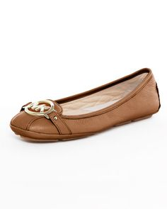 I so want these Michael Kors flats. They last so long and are SO very comfortable. Brown.