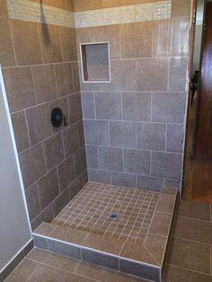 Tiled Shower Edge tiled shower stalls pictures | ideas for shower stall walls