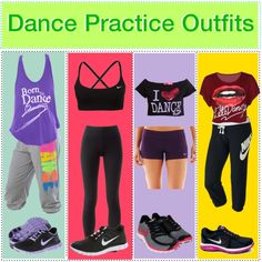 3f0b6455d21d Dance Practice Outfits Dance Stretches, Ballet Clothes, Hip Hop Outfits, Dance  Outfits,