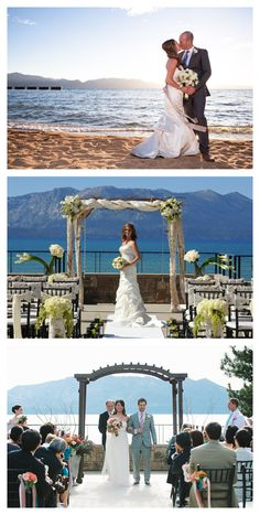 A Small Intimate Zephyr Cove Resort Wedding At Lake Tahoe Best Places To Get Married In Pinterest Weddings And