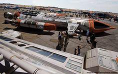 Space 1999 Hawk   Sci Fi Airshow