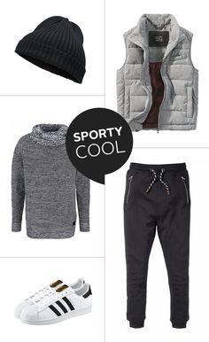 Dein ultra-casual Look – zusammengestellt von deinem OTTO Facebook-Team: Der Pullover ist mit seinem Schlauchkragen und dem Grobstrick-Look wie für die gemütlichen Tage gemacht, vor allem in Kombination mit der Sweathose und der Weste in Wolloptik, die einfach übergeworfen werden kann.