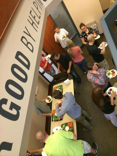 VitalSmarts employees enjoyed our August Munch & Mingle. Always good food, good conversation, and a good way to roll into Friday. #VitalSmartsRocks