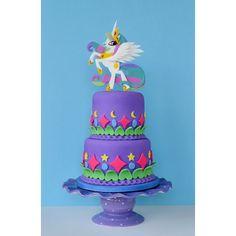 My Little Pony's, Princess Celestia cake #MLP #PegaSister