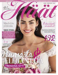 Elegantti Häät-lehti 1/2015 kesä-syksy Lehtipisteissä 10.2.2015 alkaen! #häätlehti #häälehti #weddingmazine #madeinfinland