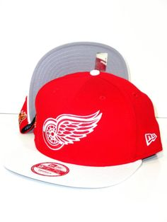 Casquette New Era Snapback Detroit Red Wings