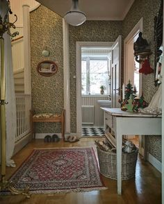 Arts And Crafts Interiors, Arts And Crafts House, Morris Wallpapers, Edwardian House, Lets Stay Home, My Home Design, Scandinavian Interior, Home Decor Inspiration, Decoration
