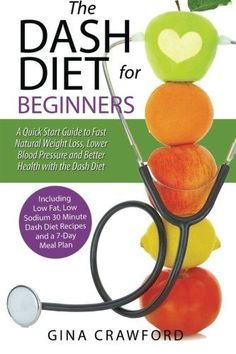 Diet Plan To Lose Weight DASH Diet for Beginners Guide Fast Natural Weight Loss (Paperback) Gina Crawford - Quick Weight Loss Tips, Healthy Weight Loss, How To Lose Weight Fast, Losing Weight, Reduce Weight, Lose Fat, Macros, Doterra, Guide To Fasting