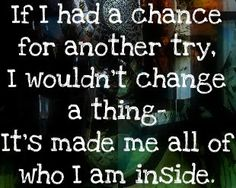 angels and airwaves lyrics:  no one's perfect..  we all need to grow; change is a part of growing