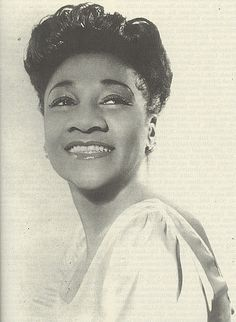 """Alberta Hunter """"(April 1, 1895 – October 17, 1984) was an American blues singer, songwriter, and nurse. Her career had started back in the early 1920s, and from there on, she became a successful jazz and blues recording artist, being critically acclaimed to the ranks of Ethel Waters and Bessie Smith. In the 1950s, she retired from performing and entered the medical field, only to successfully resume her singing career in her 80s."""" (info from wikipedia)"""
