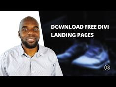Download the Free Divi Landing Pages Layout Pack Built with Wireframe Kit Vol. 1…
