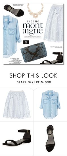 """""""Bonjour le Printemps!"""" by gleniofficial on Polyvore featuring Boohoo, Rails, Avenue, Stuart Weitzman and Kate Spade"""