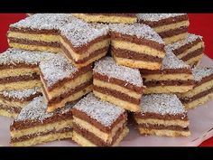 (45) حلويات العيد/ حلوى الطبقات الاقتصادية والسهلة بالمربى وبدون زبدة هشيشة تدوب في الفم - YouTube