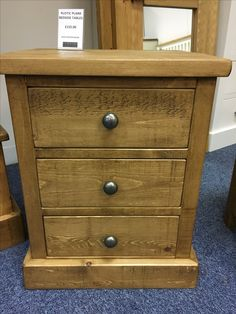 We Love Our 3 Drawer Rustic Plank Bedside Table Come Into St Ives Showroom